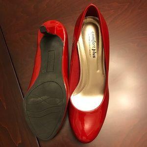 Predictions Shoes - Red Predictions ComfortPlus Heels